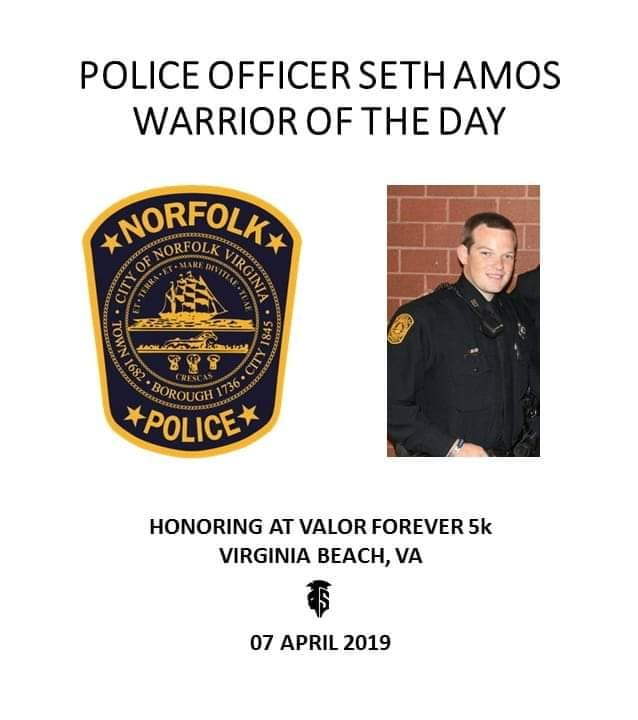 Spartyka 4th Annual Valor Forever 5K 7th April 2019