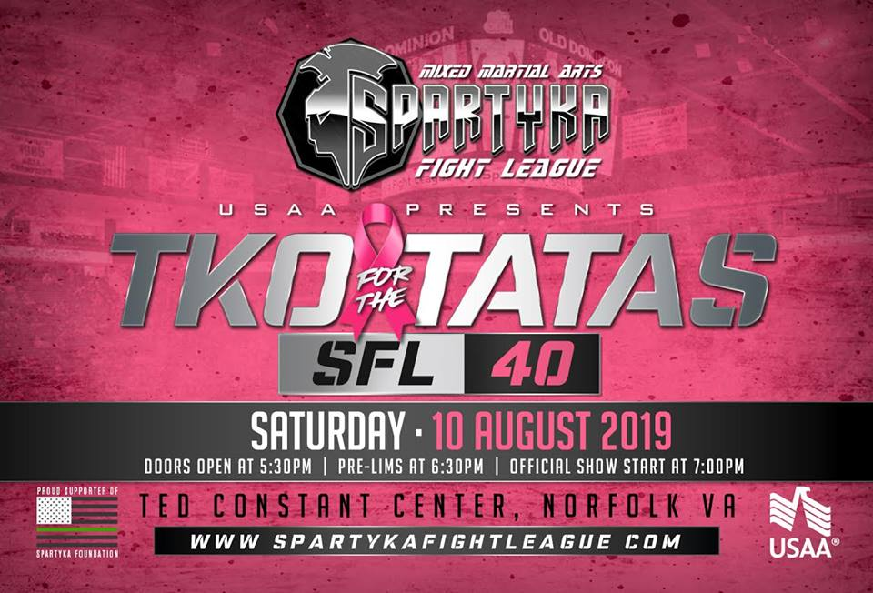 Spartyka Fight League brings back  TKO For The TA-TAs