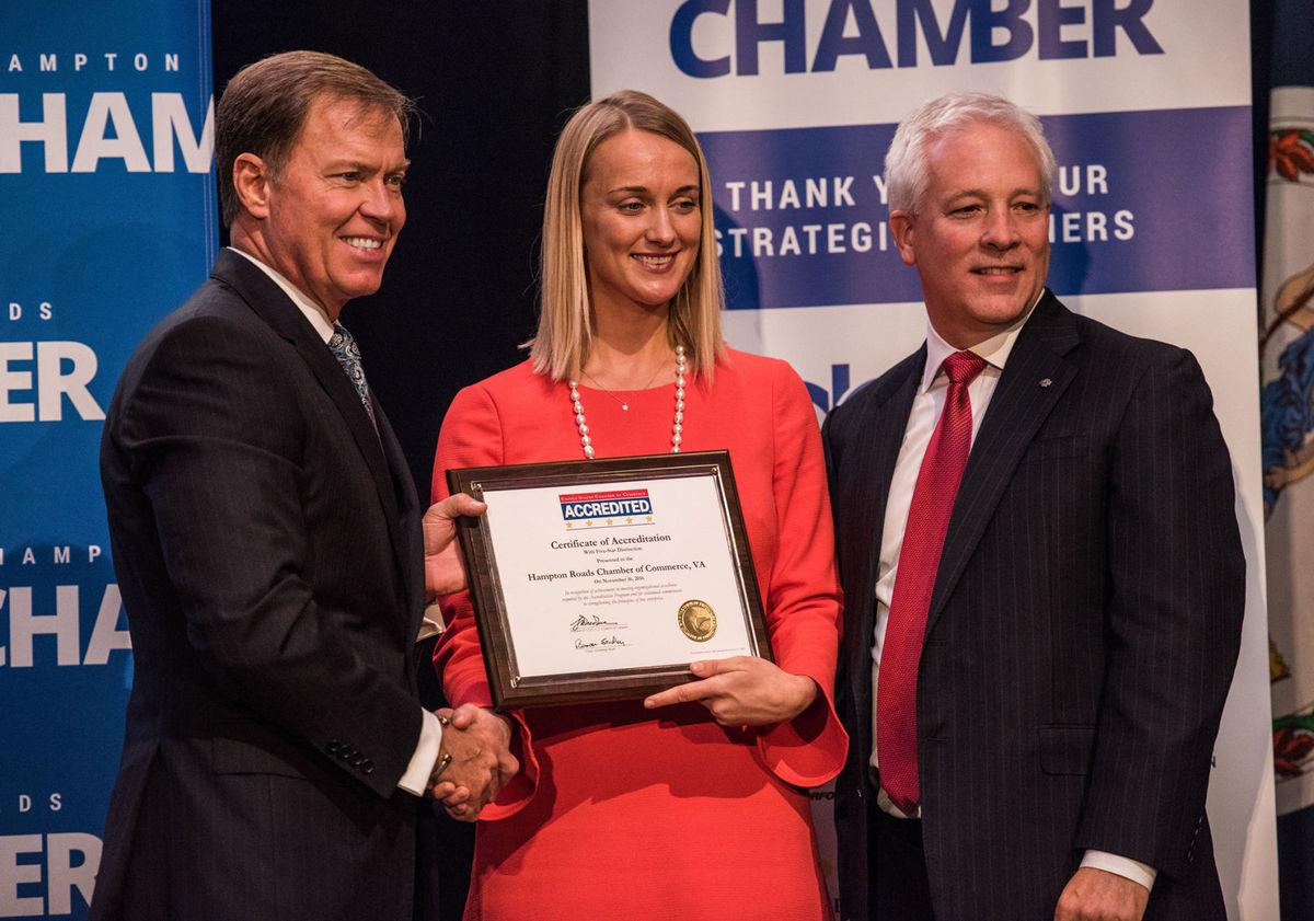 Hampton Roads Chamber awarded 5-star accreditation by U.S. Chamber