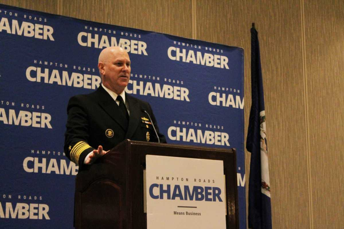 Navy leader assures Hampton Roads of its place in fleet's future
