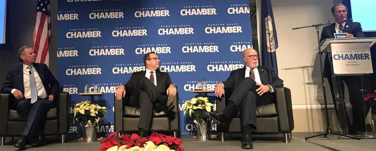 Three industry leaders share details of Hampton Roads' economy's foundation