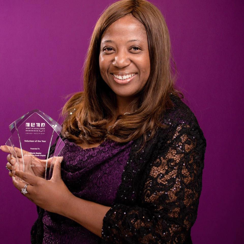 Hampton Roads Chamber Member and Ambassador Receives Volunteer of the Year Award
