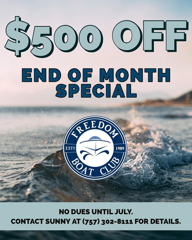 End of Month Special!