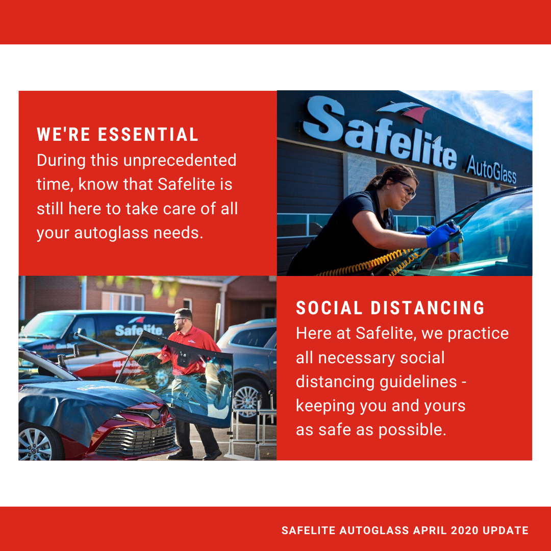 Safelite Auto Glass is Open During Covid-19