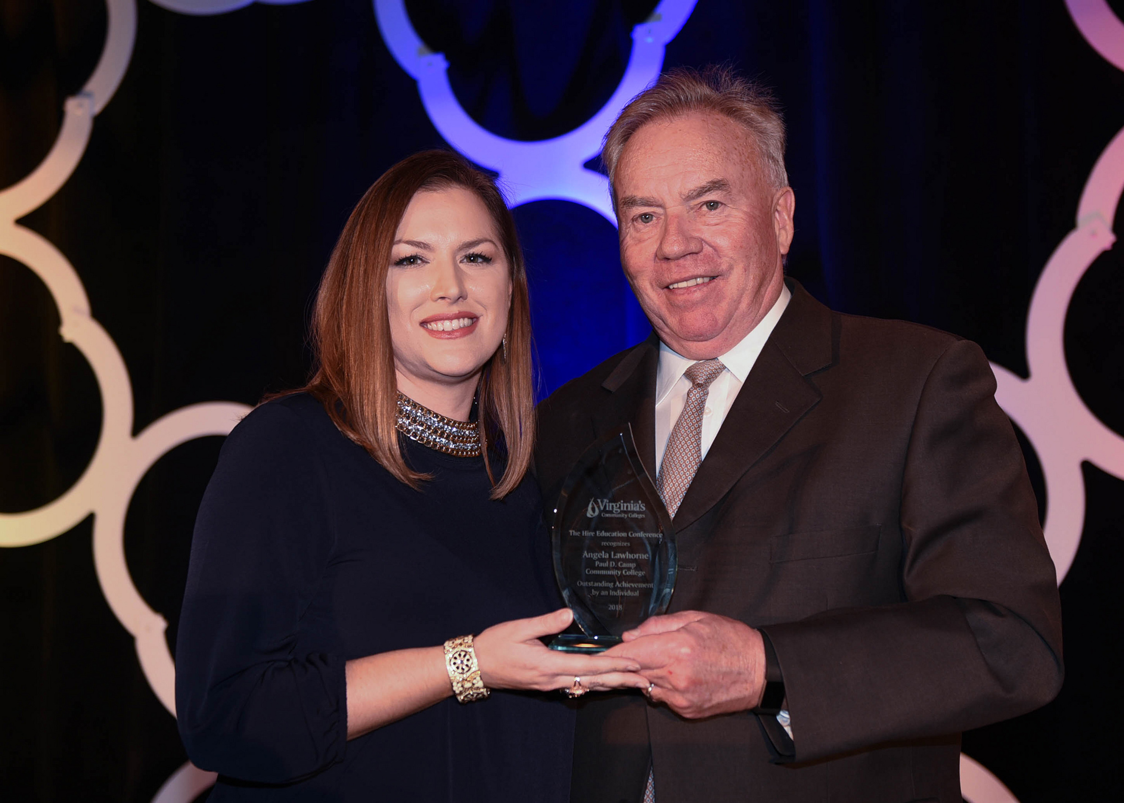 Angela Lawhorne of PDCCC honored for workforce achievements
