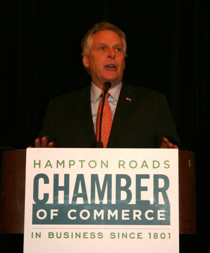 Governor McAuliffe Recognizes June 2014 as Business Appreciation Month
