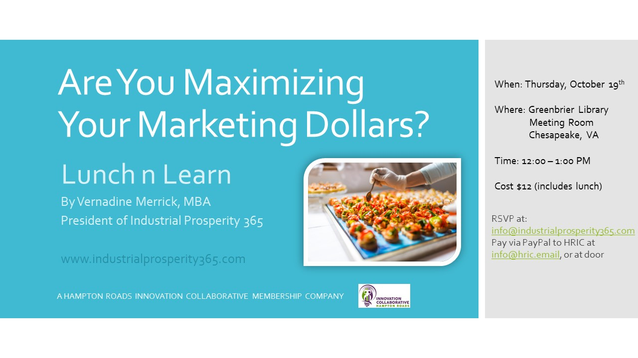 Are You Maximizing Your Marketing Dollars?
