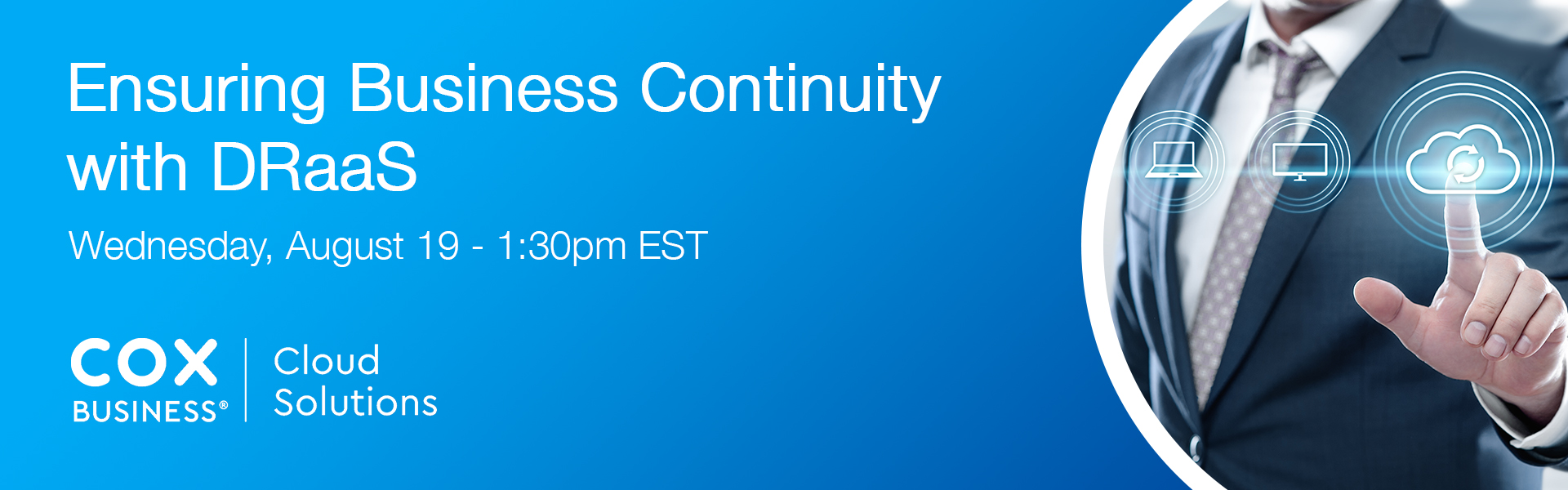 Cox Business offers free webinar on Disaster Recovery