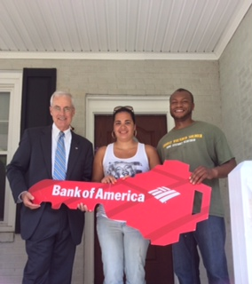 Military Veteran Receives Keys to Mortgage Free Home in Gloucester, Va