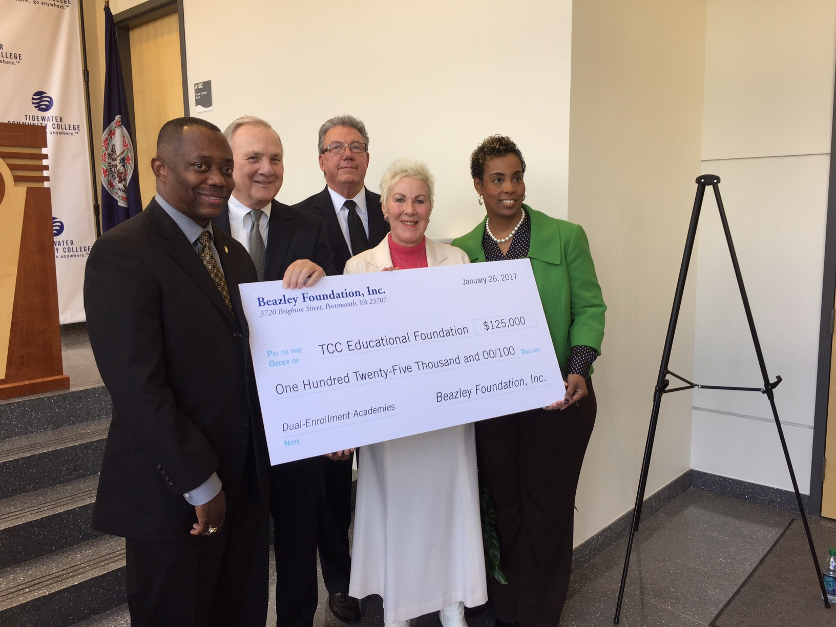 Beazley gift lets TCC expand its Portsmouth dual-enrollment program