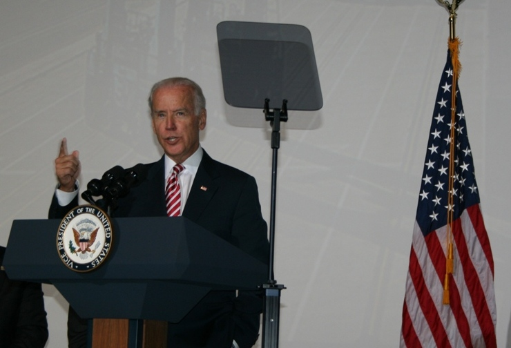 Vice President Joe Biden in Norfolk to Announce Grant to Virginia Port Authority