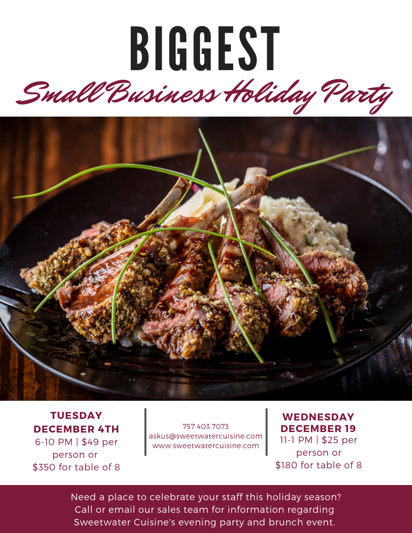Biggest Small Business Holiday Party