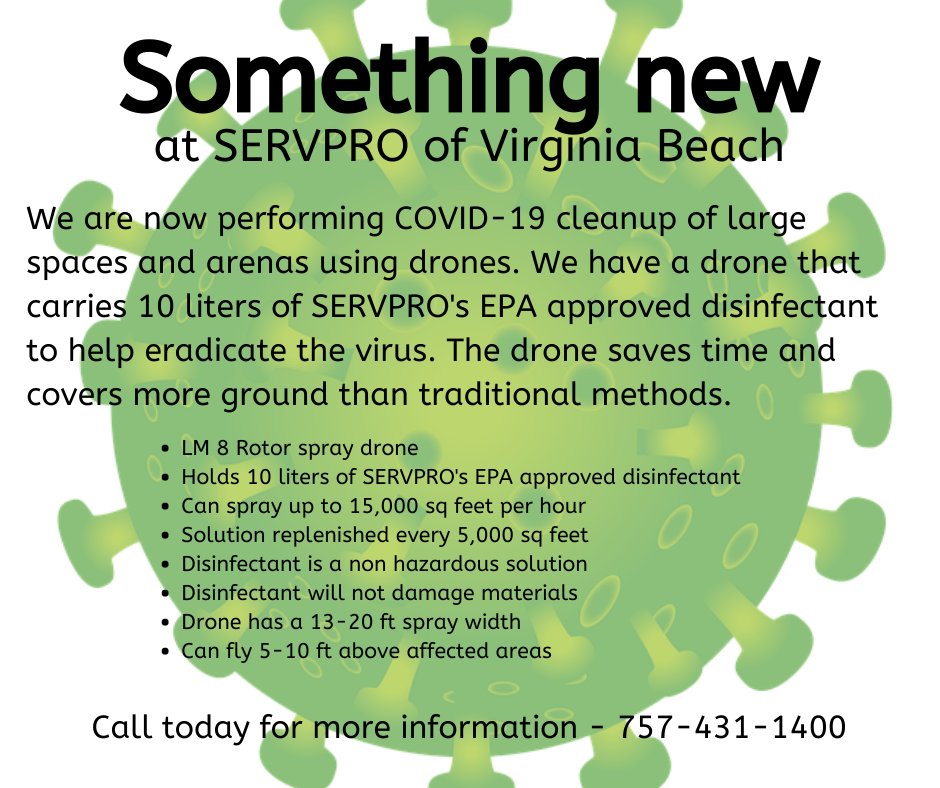 New from SERVPRO of Virginia Beach