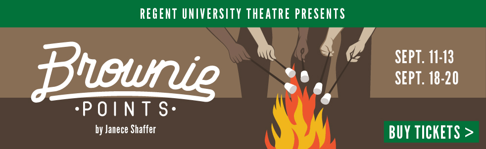 Regent University Theatre presents BROWNIE POINTS