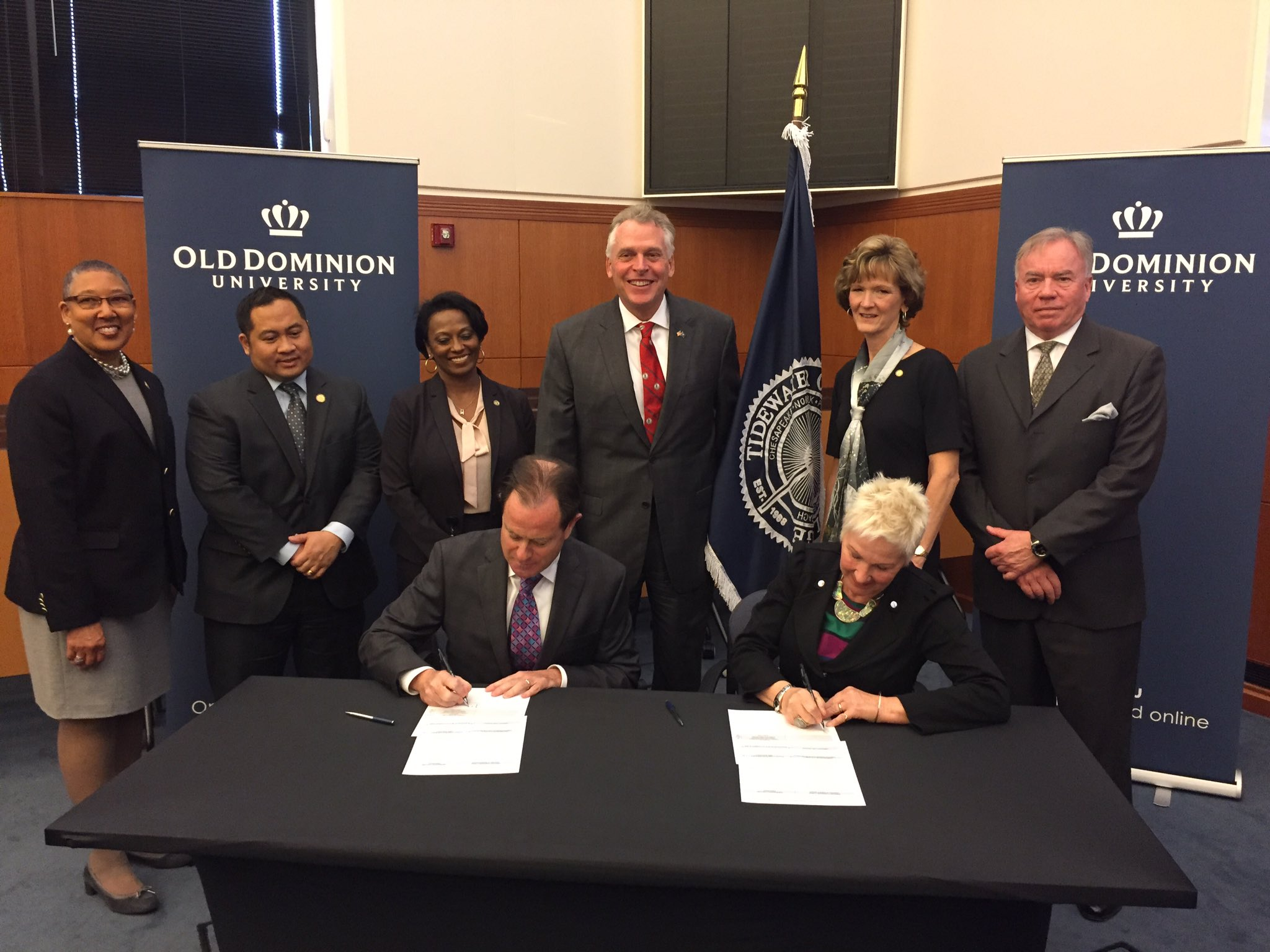 New TCC-ODU agreement gives cybersecurity students seamless path to a bachelor's