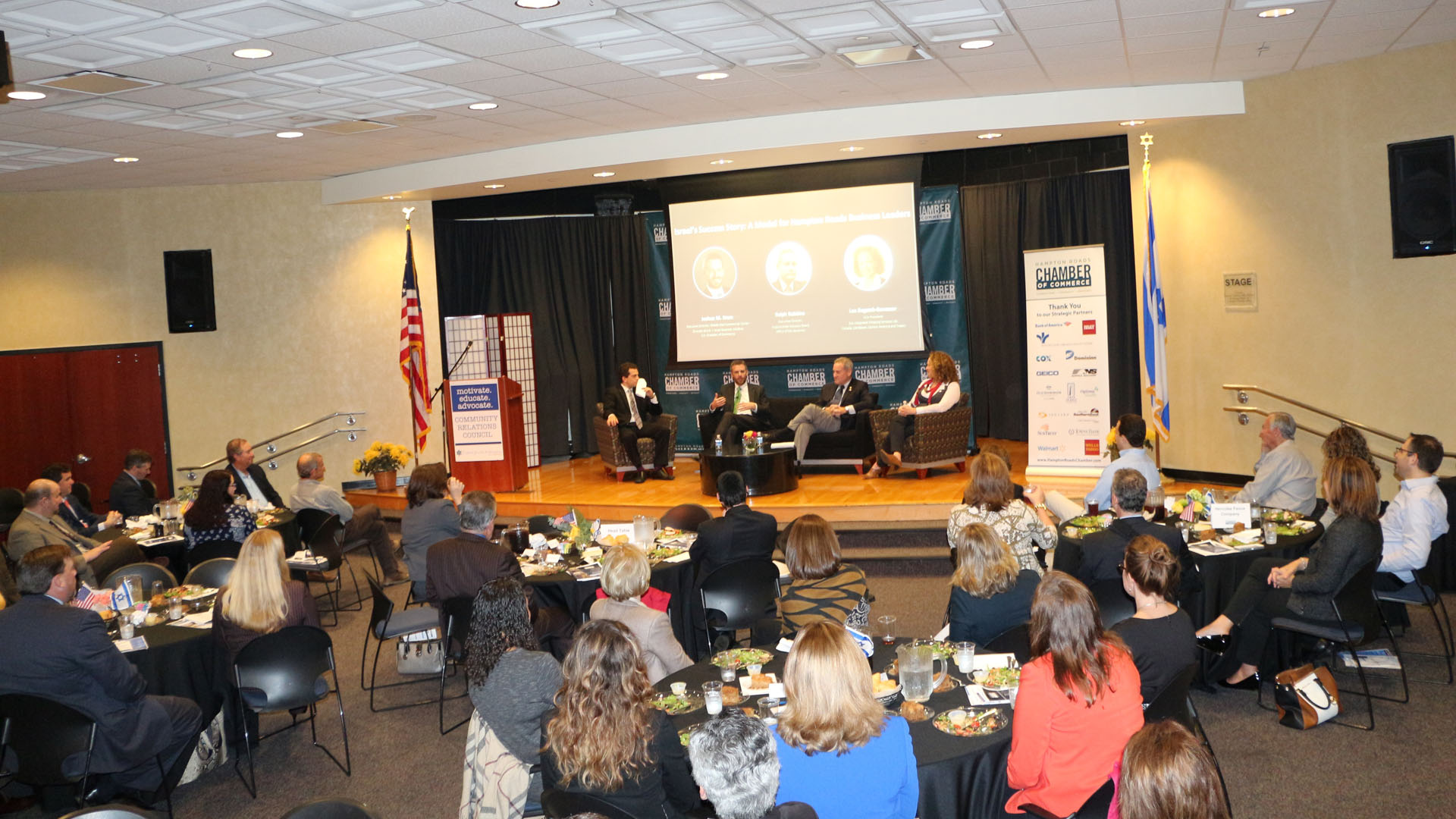 Chamber Partners with the United Jewish Federation of Tidewater to Host a Chamber Leadership Event