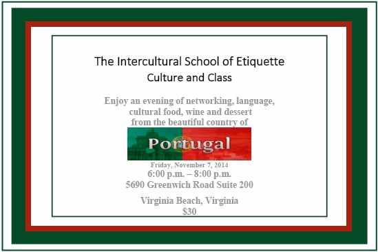 The Intercultural School of Etiquette, Culture and Class for Business Professionals