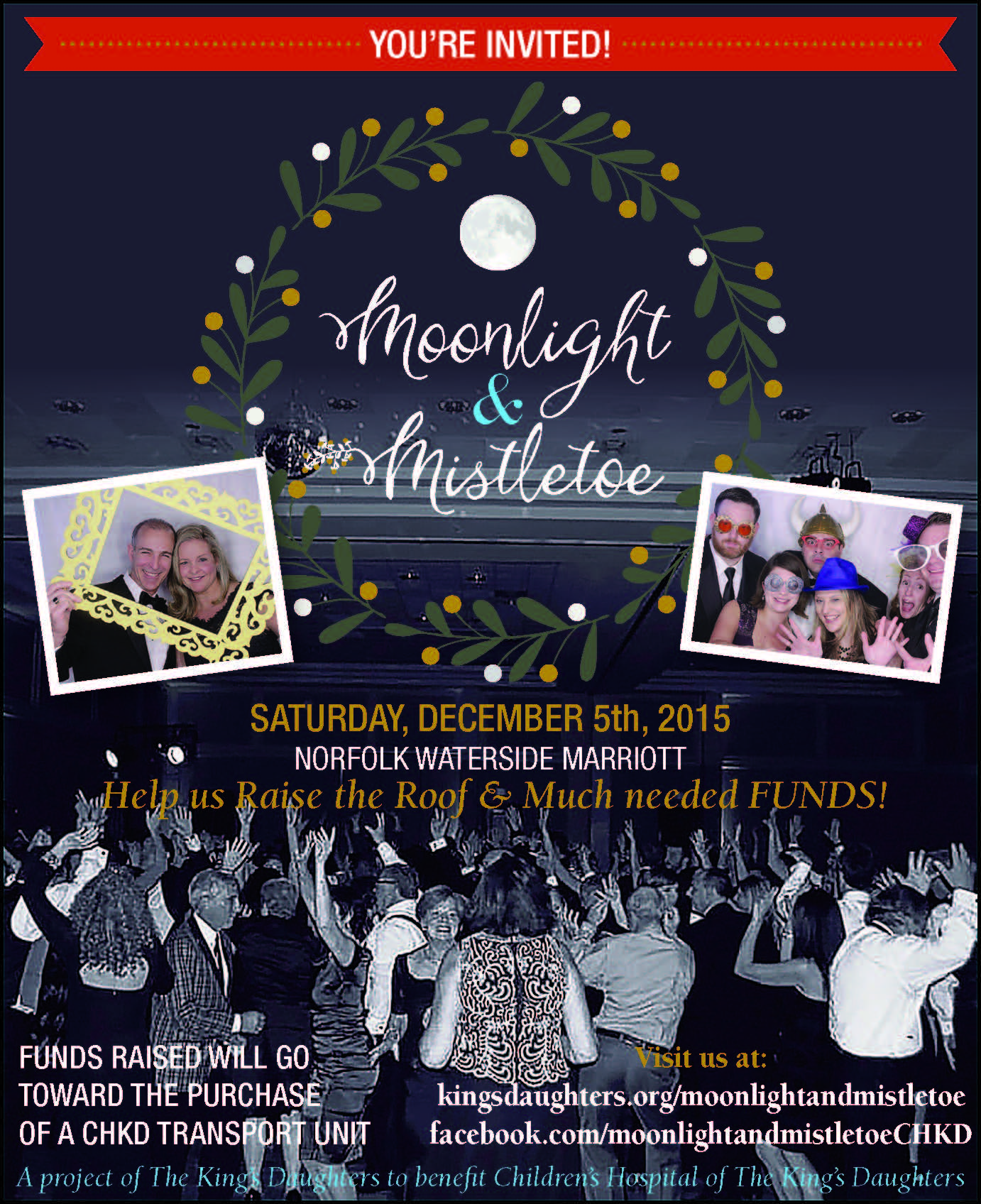 Moonlight & Mistletoe to benefit CHKD