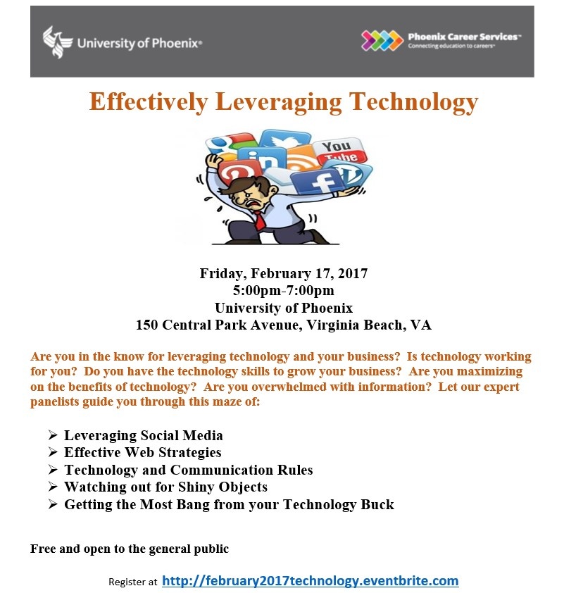 EFFECTIVELY LEVERAGING TECHNOLOGY