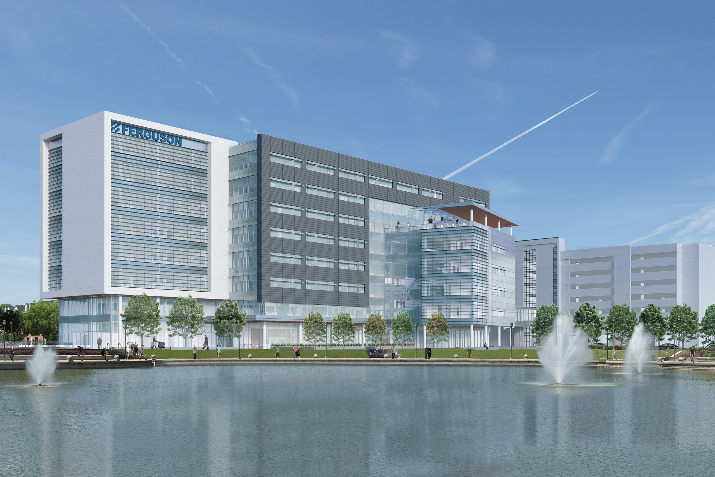 Ferguson Enterprises Breaks Ground on New 82.8 Million Headquarters