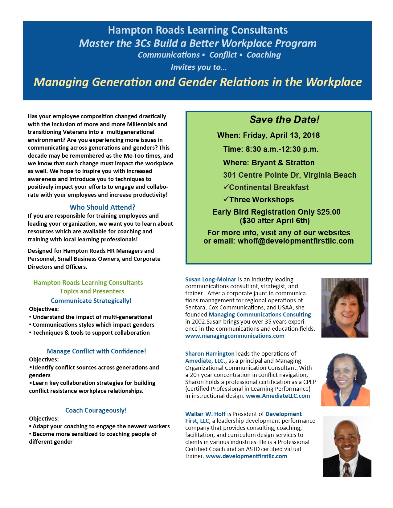 Managing Generation and Gender Relations in the Workplace