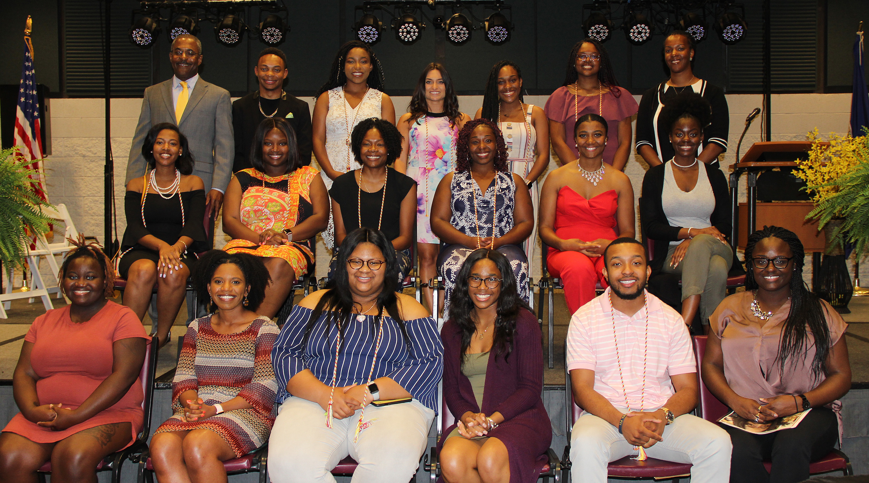 Upward Bound program at Paul D. Camp Community College honors college graduates