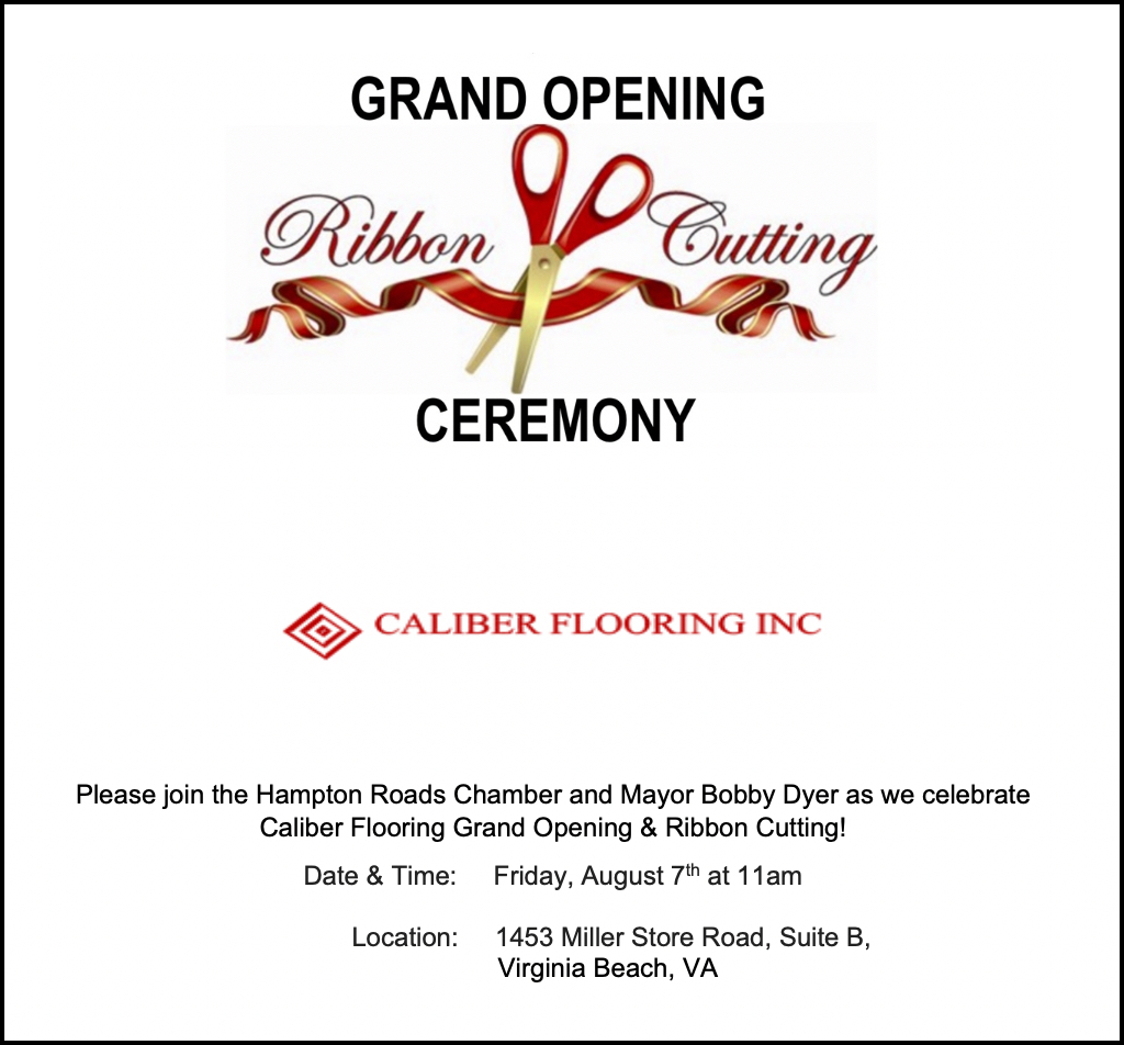 Caliber Flooring Inc Grand Opening