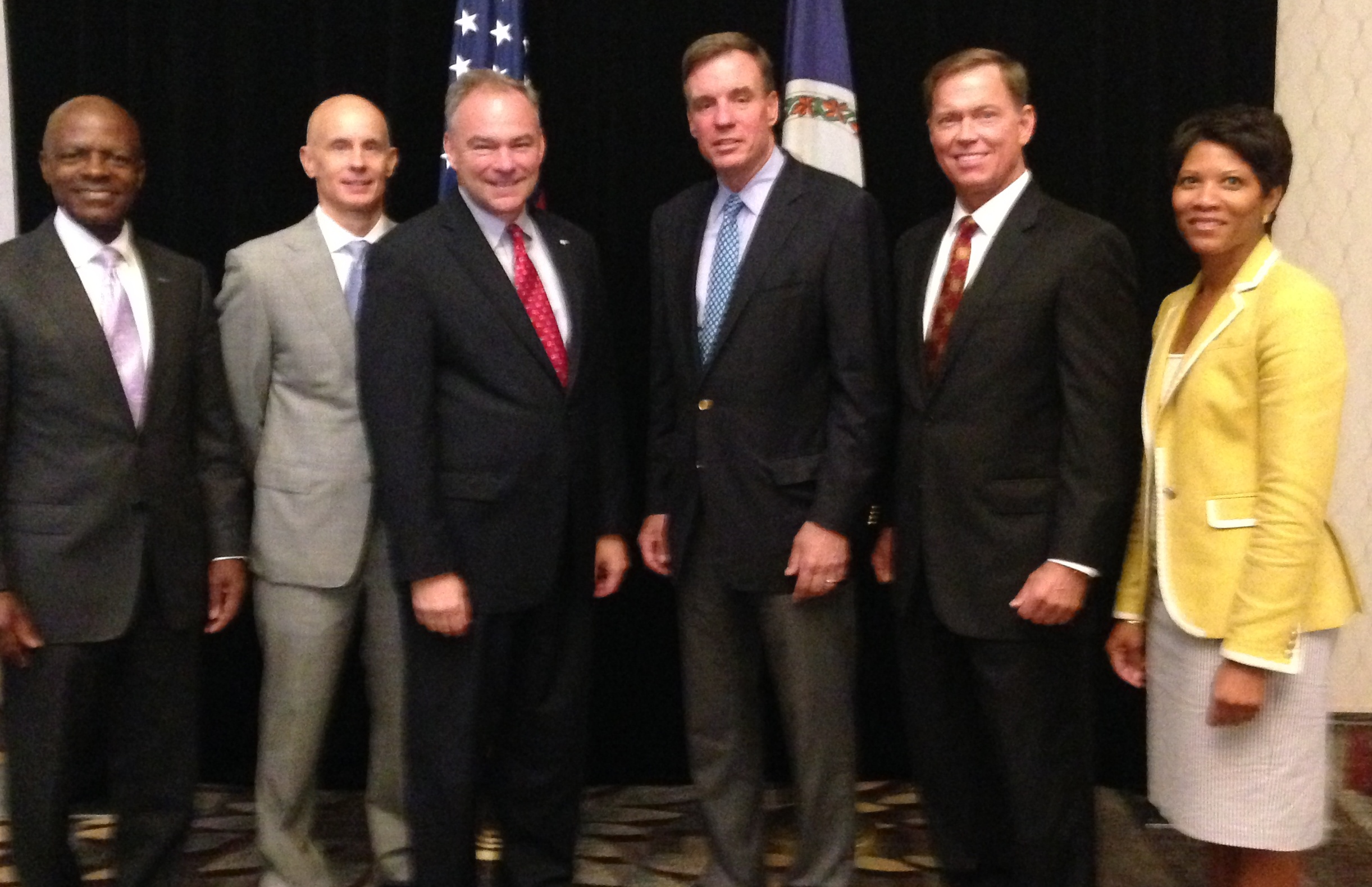 U.S. Senators Warner and Kaine Participate in Chamber Forum