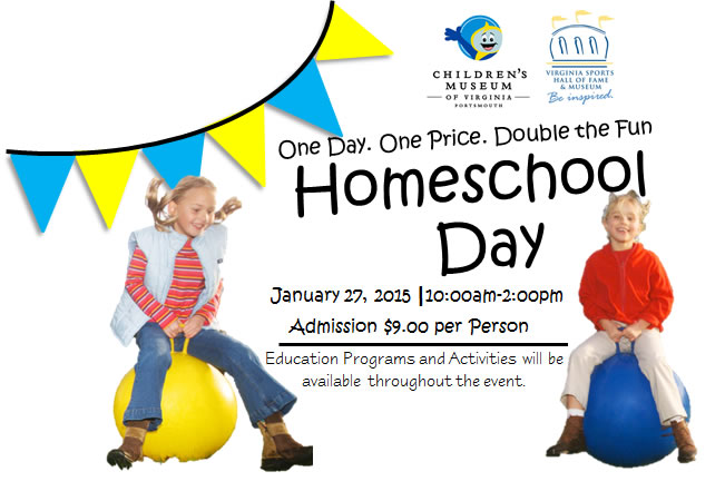 Virginia Sports Hall of Fame and Museum and Childrens Museum of Virginia Team Up Again for Homeschool Day
