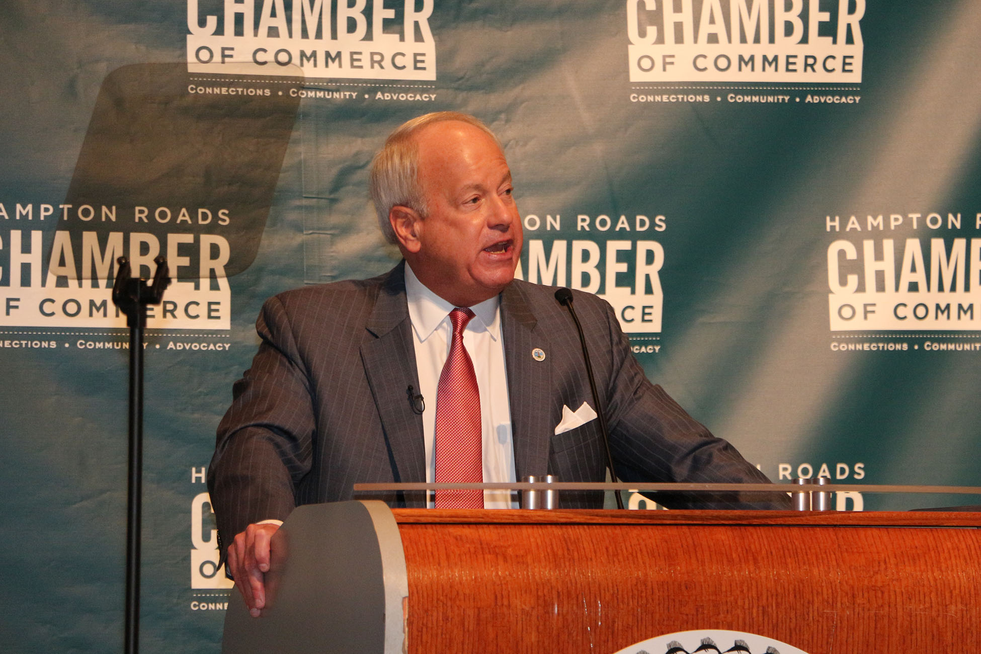 The Hampton Roads Chamber of Commerce State of the City Series kicked off on February 11th with the Virginia Beach State of the City