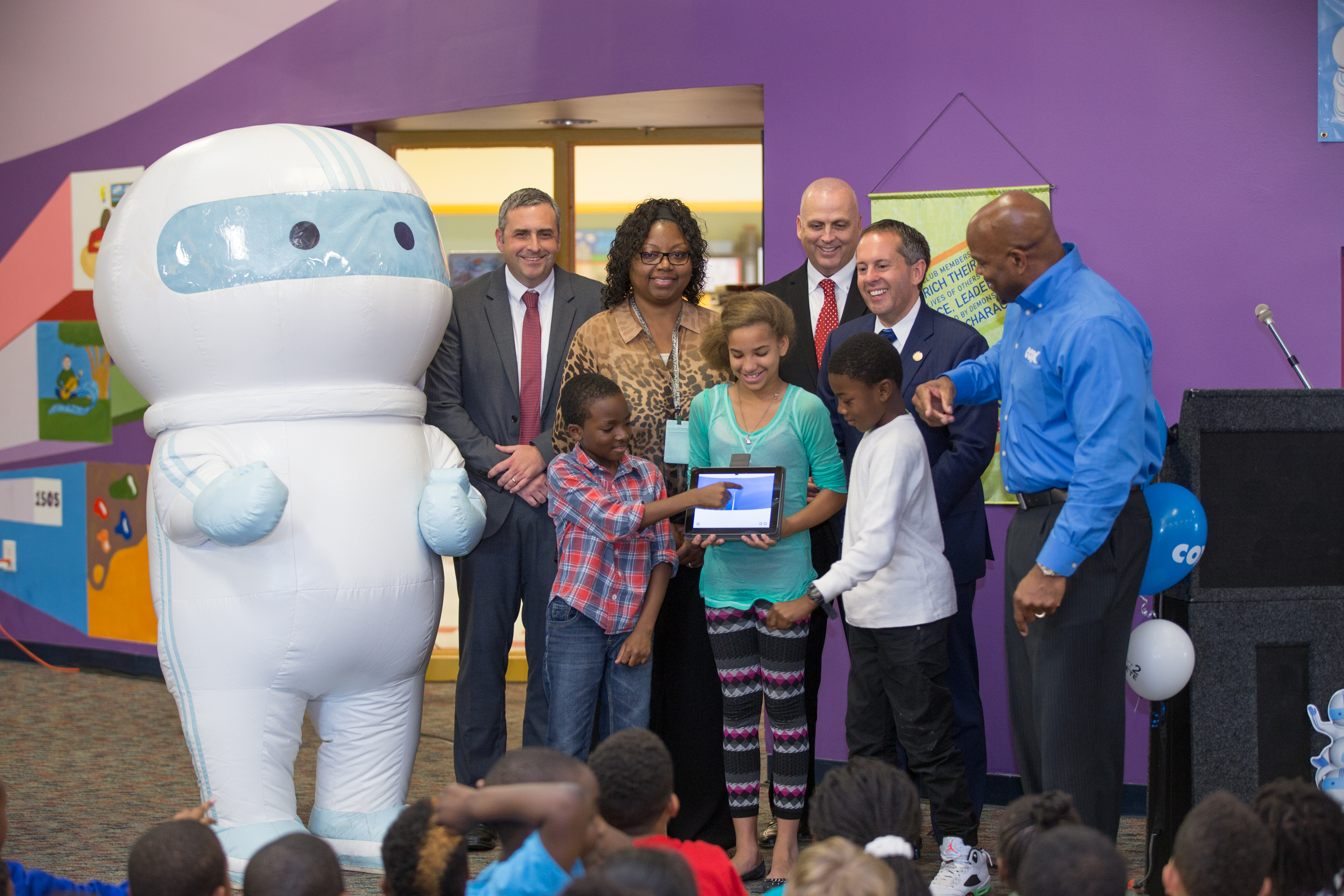 Cox Communications Funds Upgrades to Technology Center for Boys & Girls Clubs of Southeast Virginia