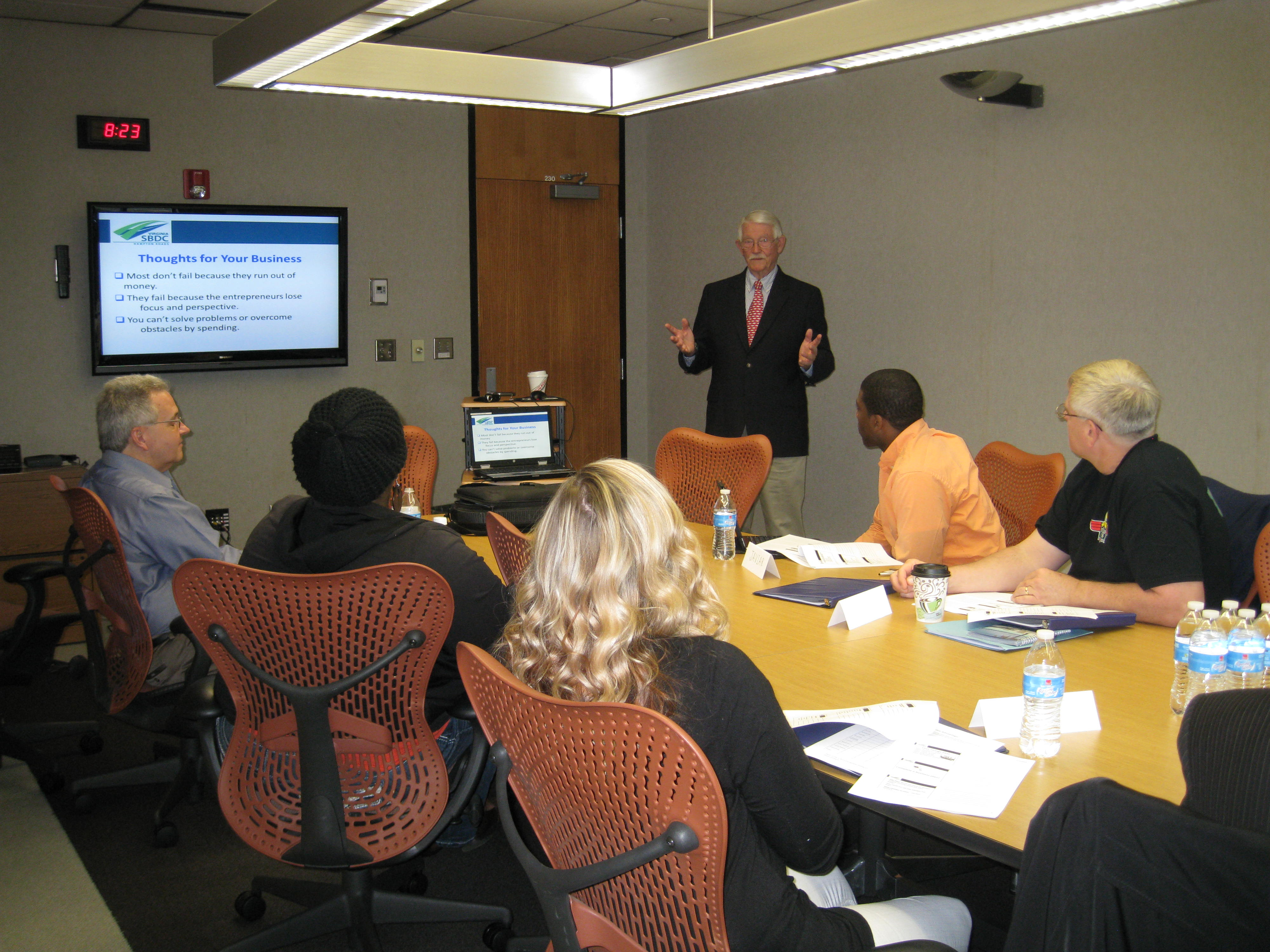 The Small Business Development Center of Hampton Roads (SBDC) Kicked Off the Spring Session of the Hampton Roads Retail Academy on April 9