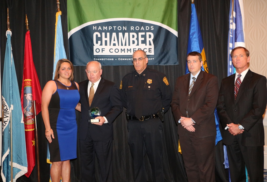 Local Heroes Honored at Chamber's Third Annual Valor Awards