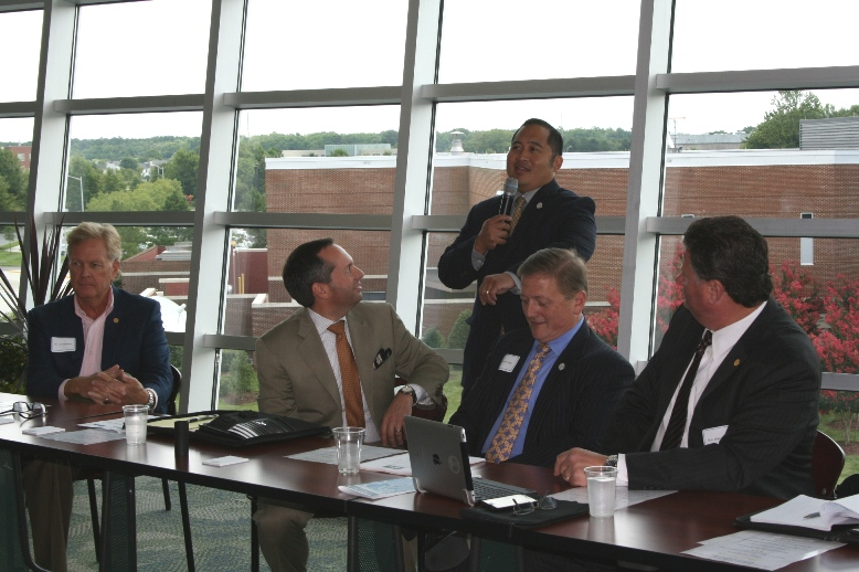 Local Business Leaders Share Ideas at Roundtable Discussion with Elected Officials