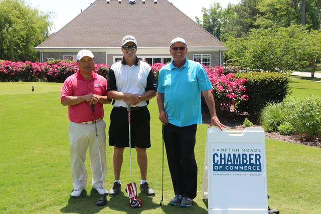 22 Teams Compete in Chamber's Wounded Warrior Golf Outing
