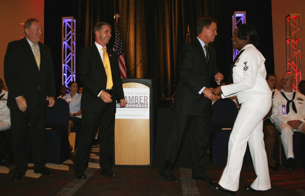 Business Community Honors Local Service Men and Women at Chamber's Military Recognition Reception