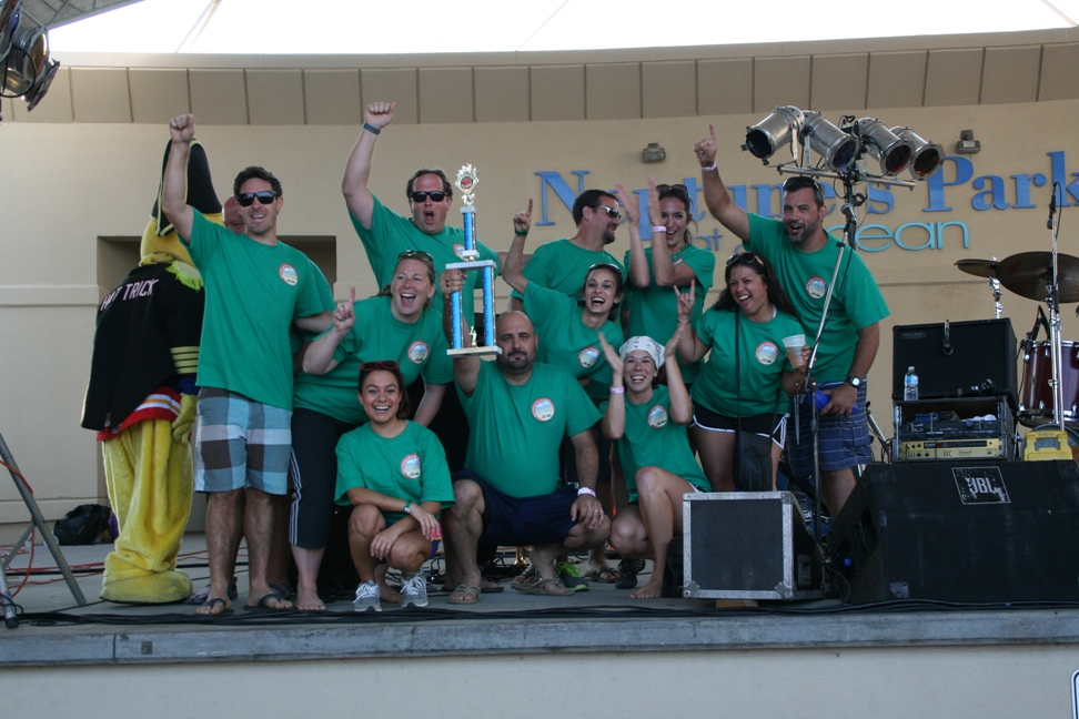 Electronic Systems, Inc. Took First Place at Third Annual Sand Kickball Tournament