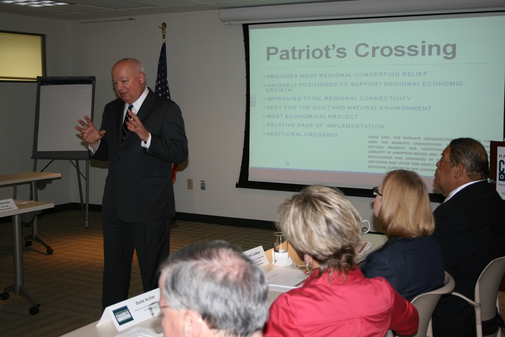 Hampton Roads Chamber of Commerce Executive Committee Signals Support for Patriot's Crossing