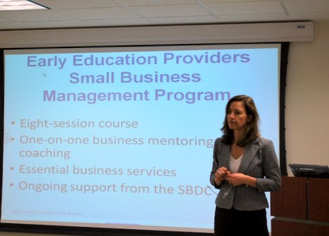 Twenty-Six Local Early Education Centers Will Graduate from Small Business Development Center Program this Fall