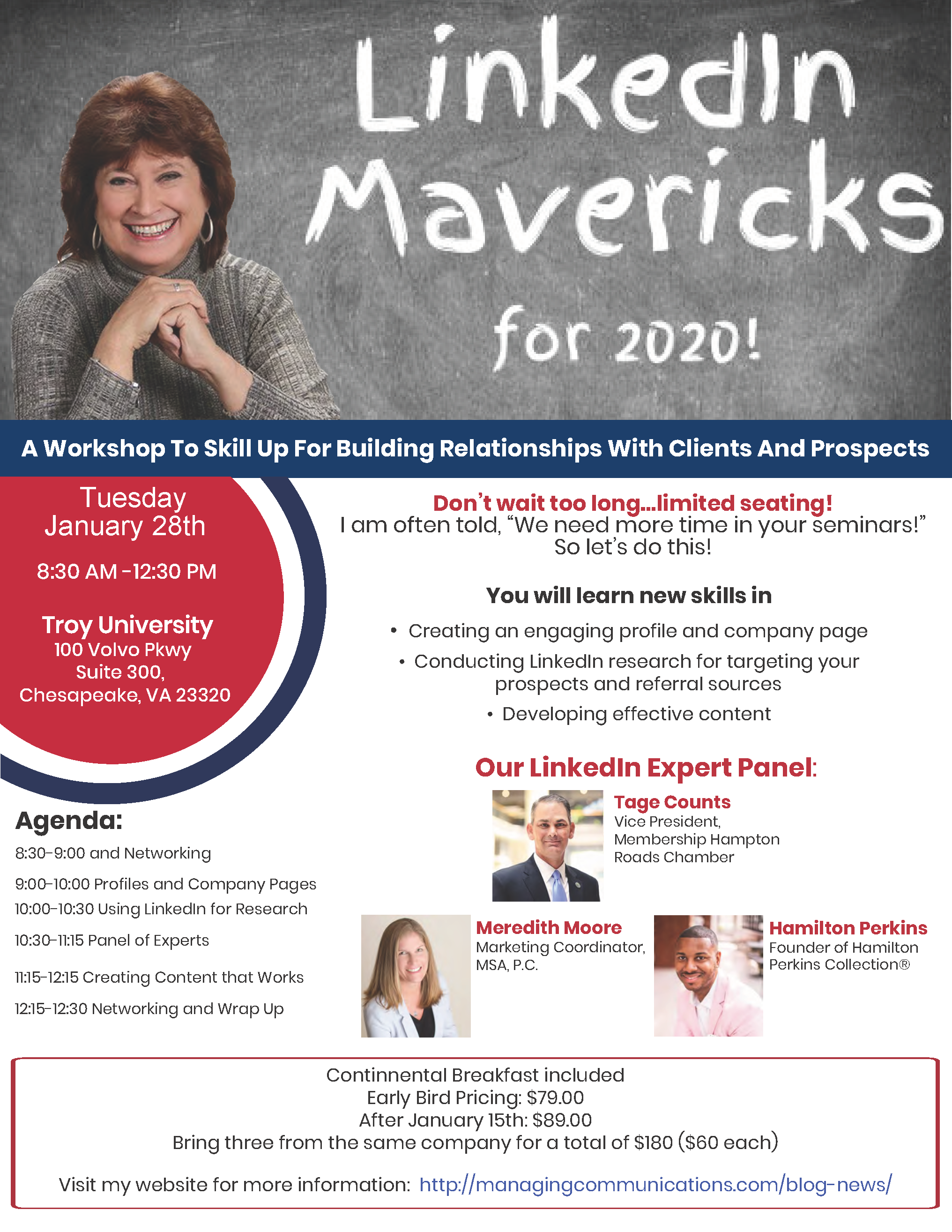 Linkedin Mavericks for 2020...We Still have a Few Seats!