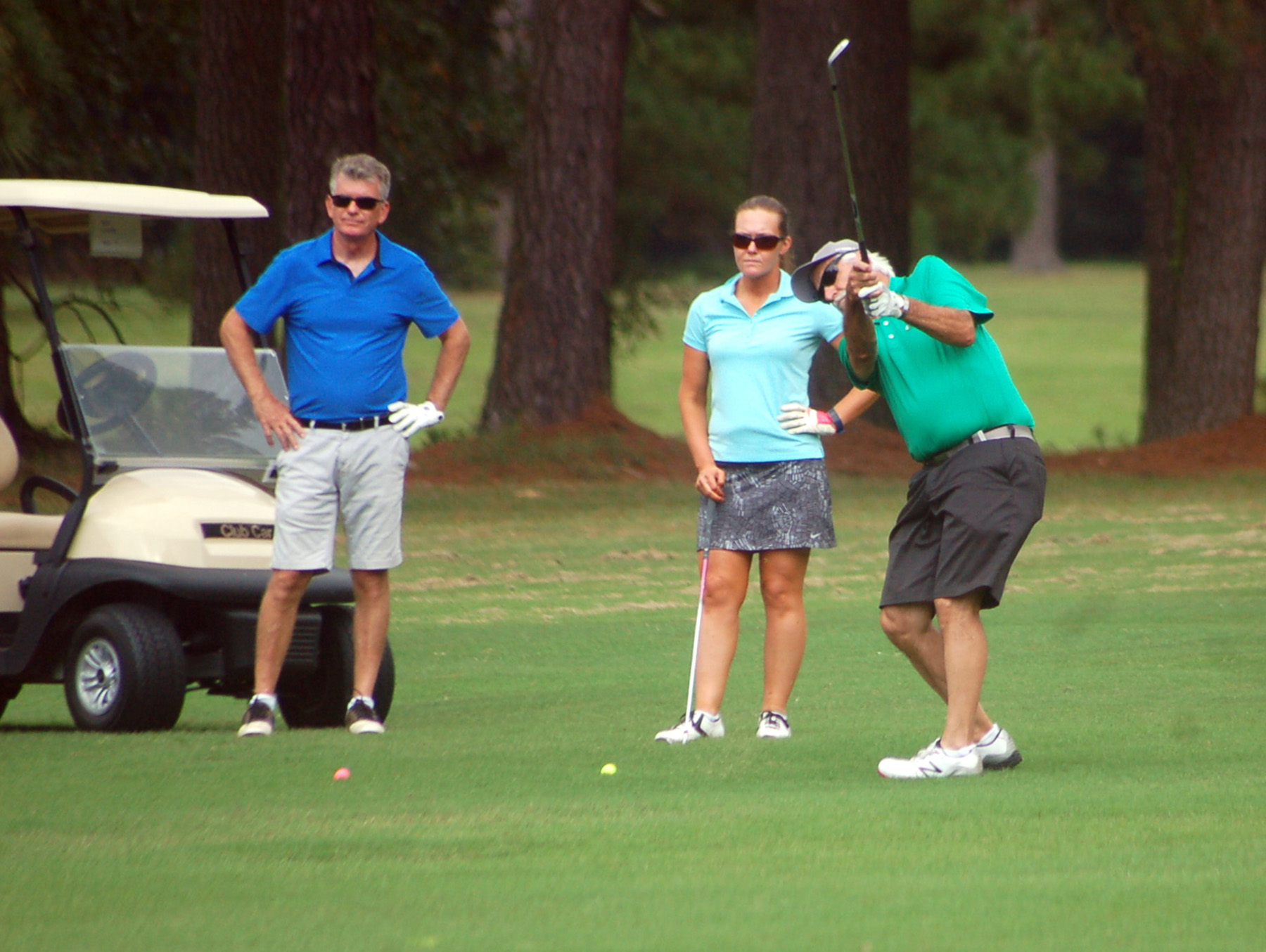 Camp drives student success with annual golf tourney