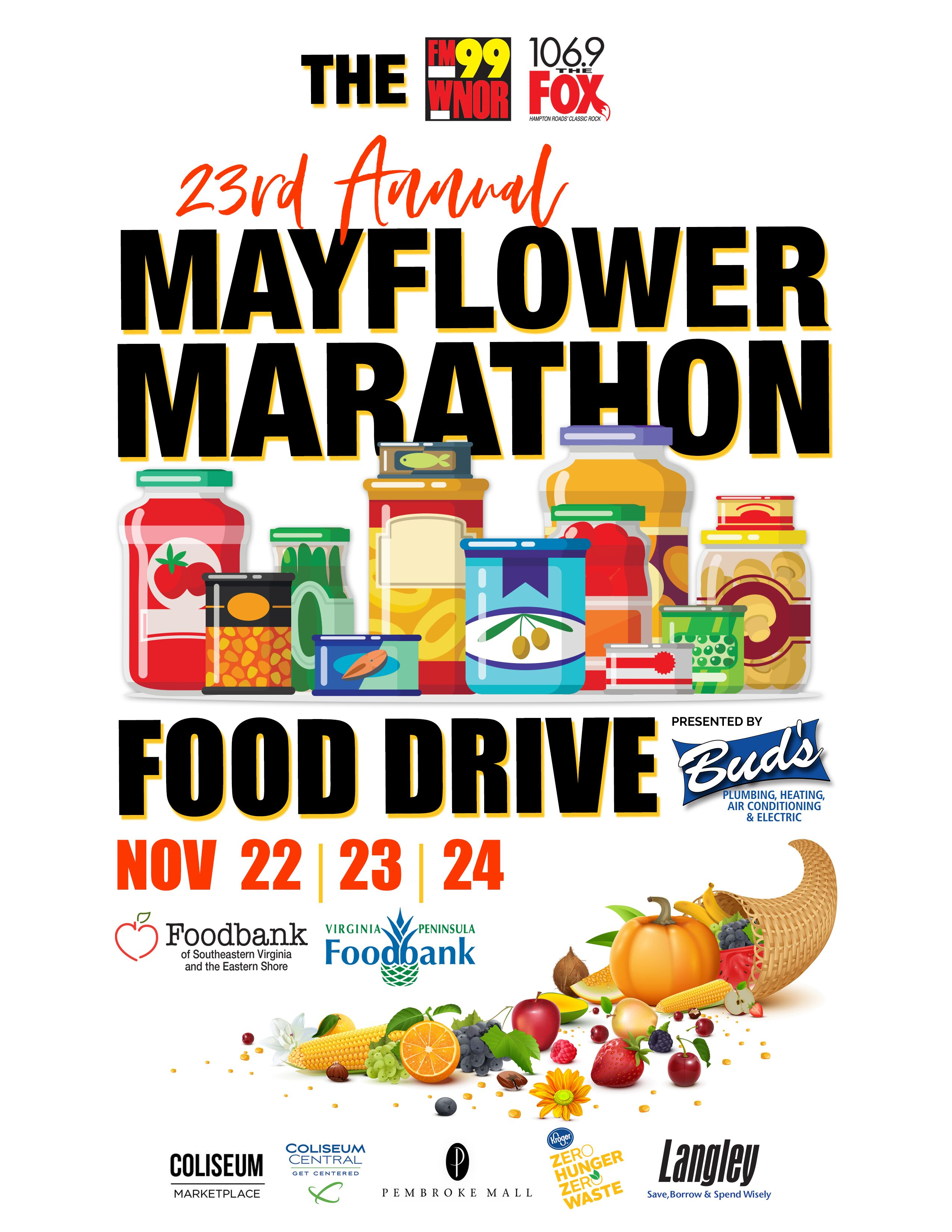 FM99 and 106.9 The Fox Host 23rd Annual Mayflower Marathon
