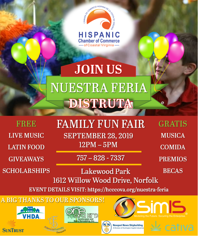 Come Join Us at Nuestra Feria this Saturday!