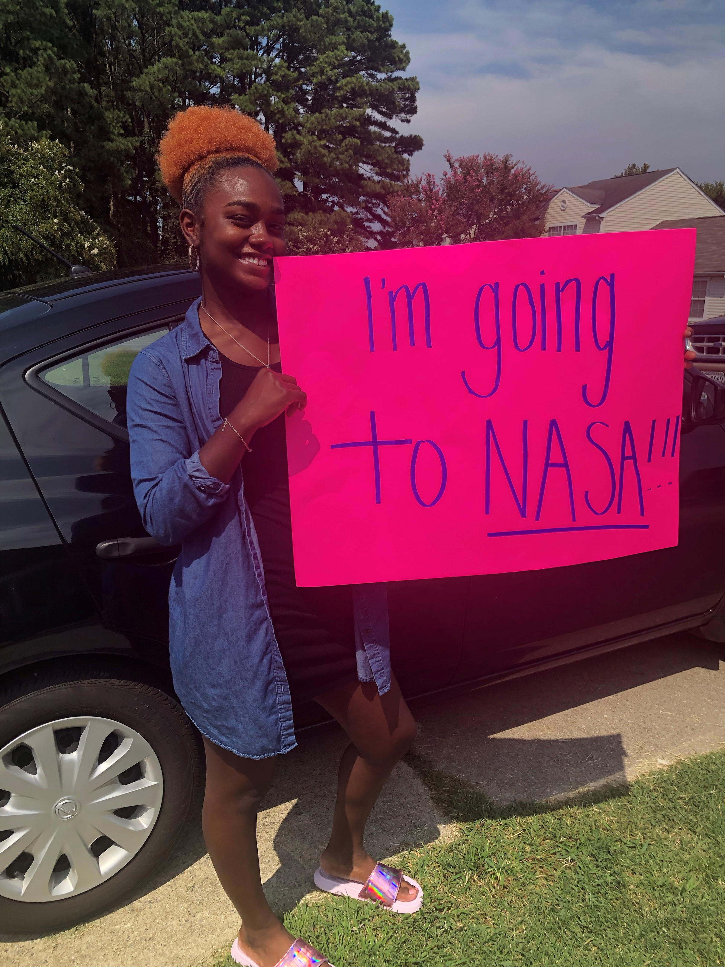 Camp student headed for NASA in October