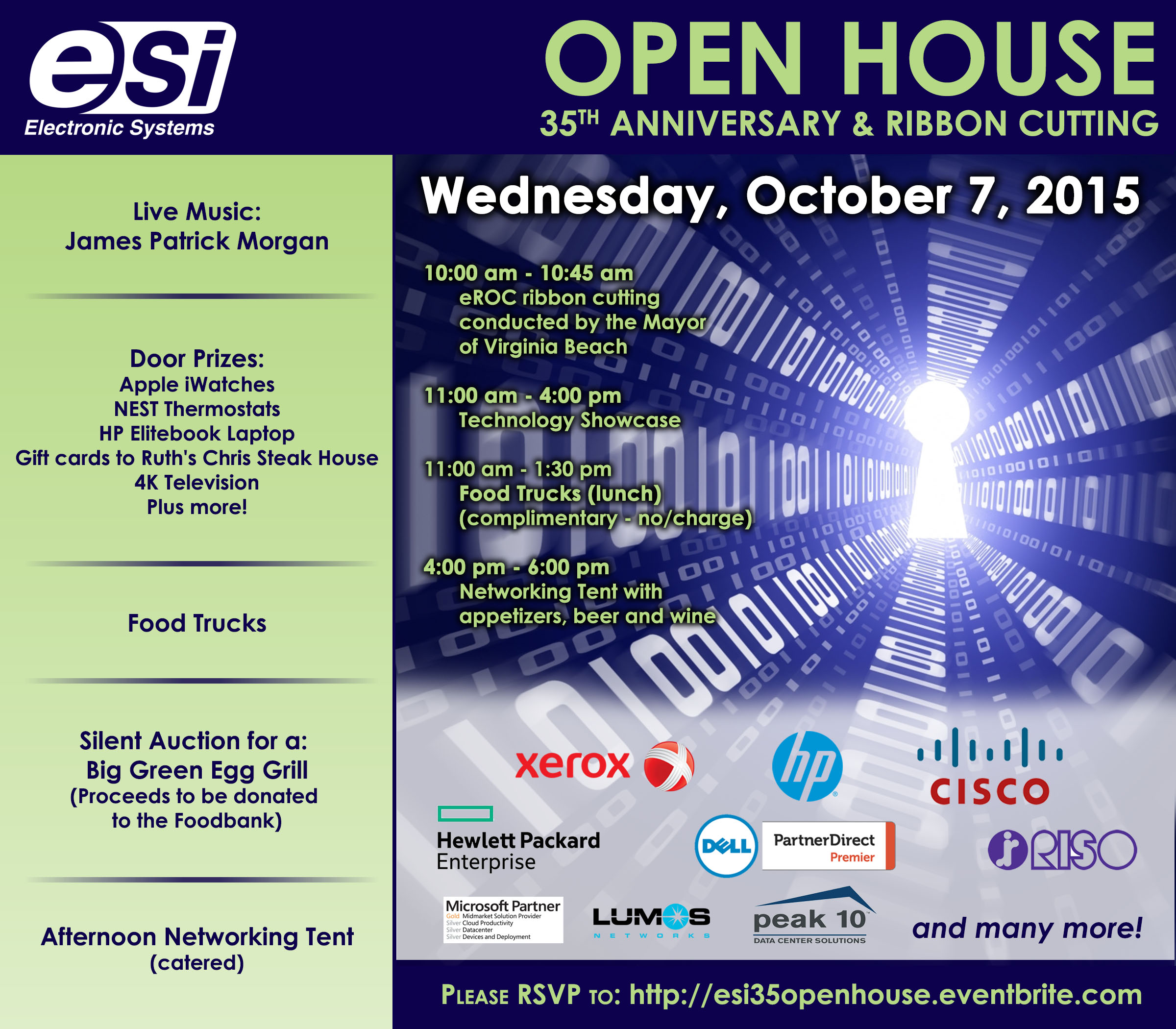 Join ESI at their Open House to Celebrate 35th Anniversary