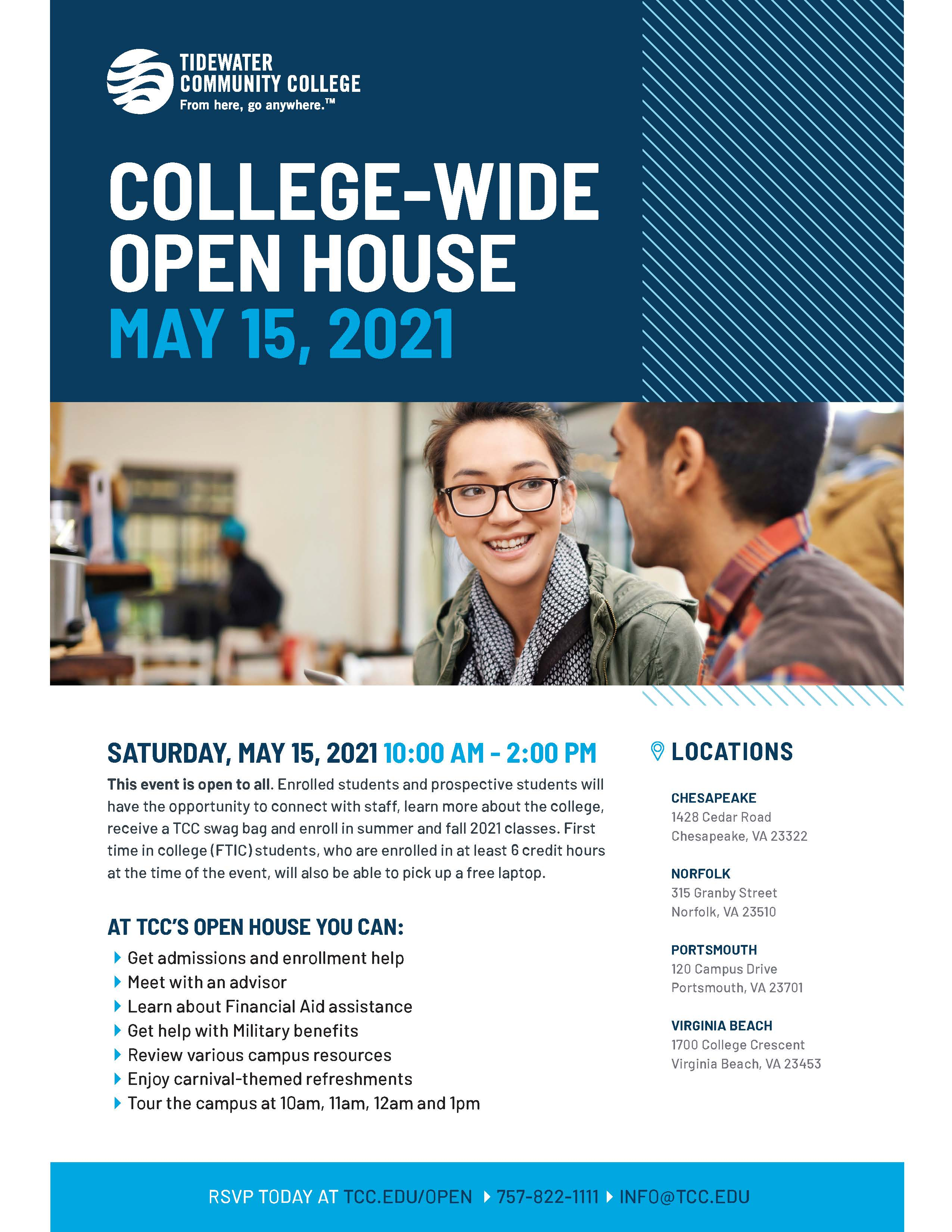 Tidewater Community College Open House
