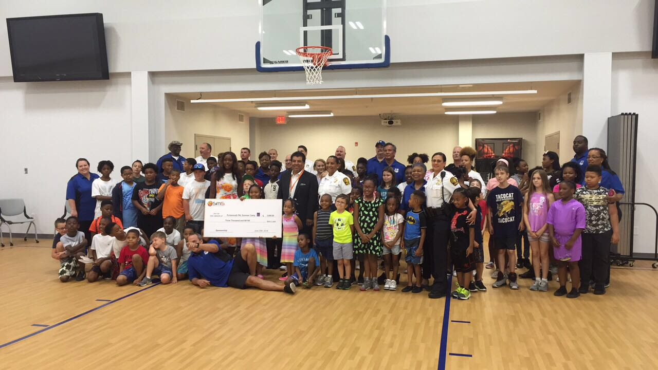 SimIS to sponsor 10 kids for Portsmouth PD PAL Summer Camp