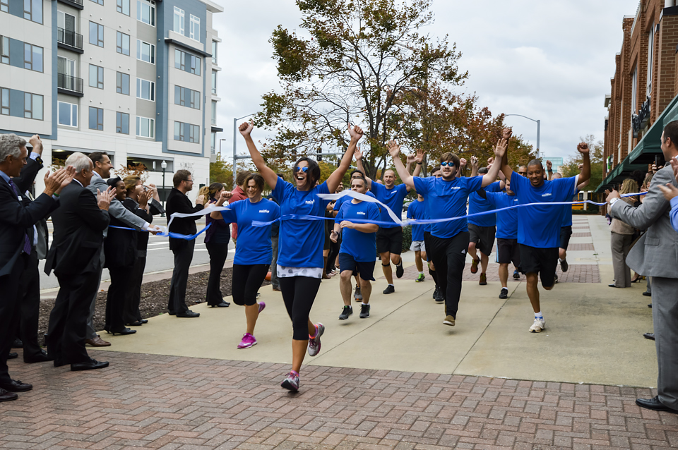 Marathon Team Hits the Ground Running -- Literally! -- for New Office Grand Opening