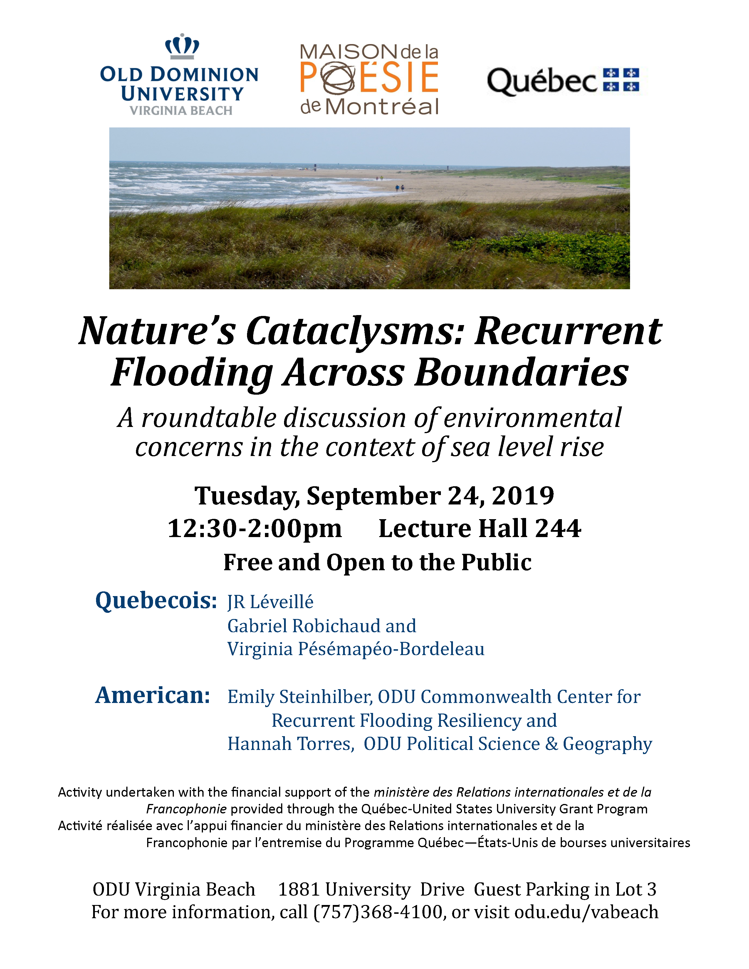 Nature's Cataclysms: Recurrent Flooding Across Boundaries
