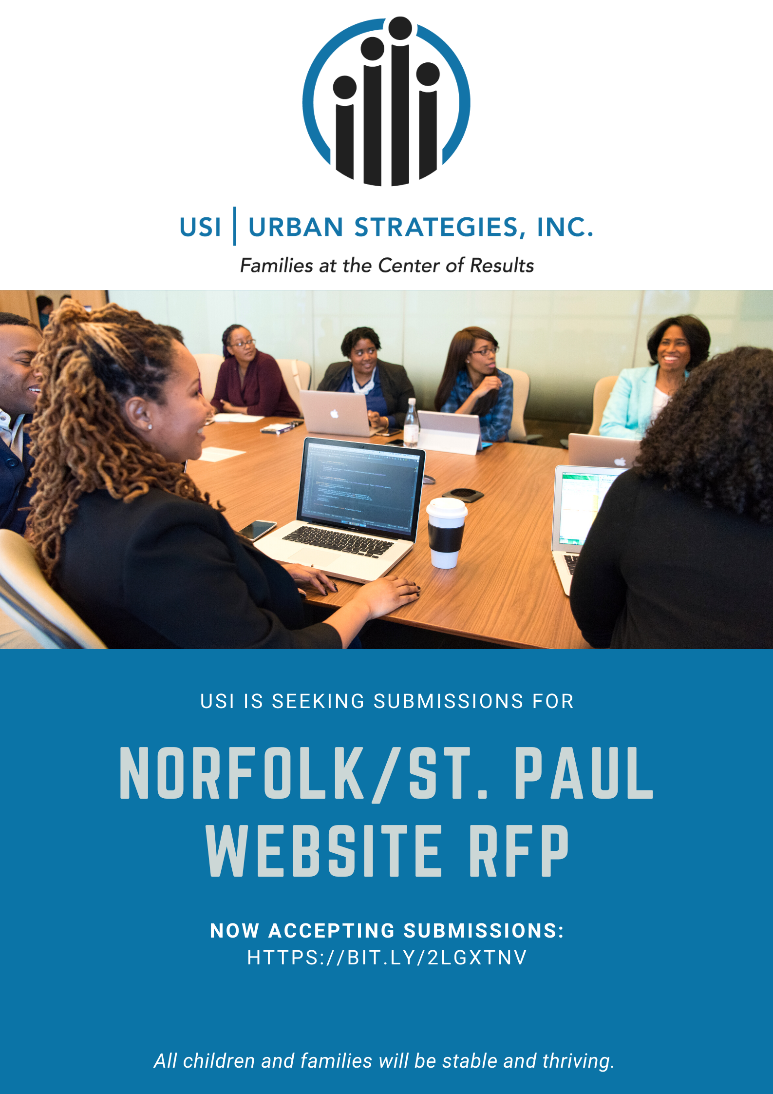 Seeking Submissions for St. Paul Website RFP
